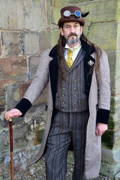 Steampunk Cosplay at Tutbury Castle 16.03.14 by masimage