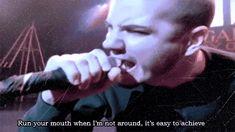"GIF Phil Anselmo Singing from Pantera 's ""Walk"" videoclip Lyrics"