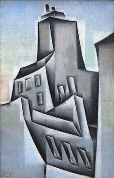 Juan Gris (1887-1927) Houses in Paris.