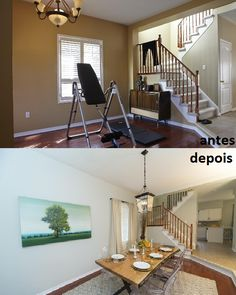 Sala de Jantar  Property Brothers - Buying&Selling - Season 3 - Joe, Selena e Melissa