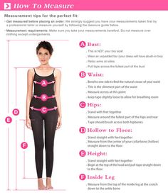Here's how to get your most accurate body measurements.