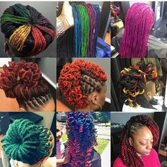 """34 Likes, 1 Comments - A.Latrice.K (@thetonikeffect) on Instagram: """"I love to see her coming. My clients are hilarious! #Fresh #Locs locs and more locs! Loc love.…"""""""