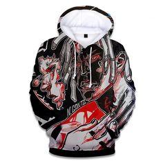 Buy 2018 Rapper XXX Tentacion Hoodie Hip Hop Singer Print Unisex Uniform Sweatshirt Fashion Hip Hop Hoodie Dress - - and Find more Women's Hoodies & Sweatshirts enjoy up to off. Xxxtentacion Hoodie, Pullover, Hoodie Dress, Revenge Hoodie, Hip Hop Singers, Mens Sweatshirts, Men's Hoodies, 3d, Cotton Hoodies