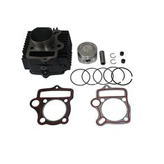 Dirt Bikes /& Go Karts Barrel X-PRO 54mm Cylinder Head Assembly for 125cc ATVs