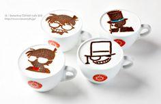 東京/大阪 期間限定【Detective CONAN CAFE 柯南偵探咖啡館】TOWER RECORDS CAFE SHIBUYA渋谷店   Coolplayers 麻吉小兔の飛行地圖