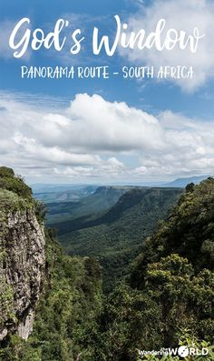 travel to south africa - God's Window, a popular stop on the Panorama Route Africa Destinations, Travel Destinations, Holiday Destinations, Places To Travel, Places To Visit, Cultural Experience, Koh Tao, Africa Travel, Where To Go