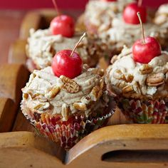 Apple and caramel are pretty simple ingredients, but when combined they are a delectable treat. Top off these cupcakes with toasted...