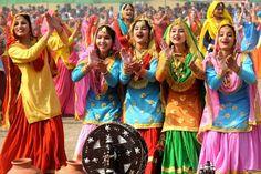 #Punjabi folk #dance