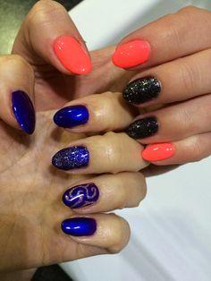 Cnd shellac purple purple , ice vapor. Gelish brights have more fun, contcrete couture.