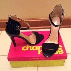 Charlotte Russe heels Charlotte Russe Black heels size 8. Only worn once! Charlotte Russe Shoes Heels
