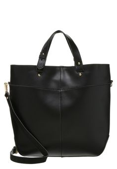 mint&berry Torba na zakupy black czarna shopper bag