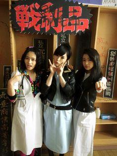Eriko Jo x Sayaka Yamamoto x Sae Murase