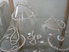 A selection of Angela Smith Jewellery in Gallery at 12, Eccleshall, Staffordshire