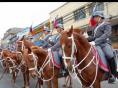 "Marcha de la caballeria Chilena - ""Clarines del Regimiento"" (compuesta por Arturo Arancibia) / March of the Chilean cavalry - ""Bugles of the Regiment"" (composed by Arturo Arancibia)"