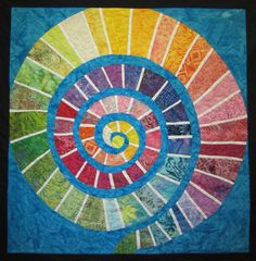 Meditation Path Art Quilt by JaneHicksQuilts on Etsy