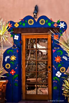 Colorful Door.  I Tuson Az ID: 11802687 © Maria  Coulson