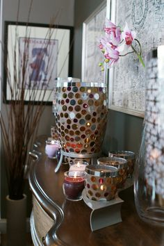 This set is perfect for neutral rooms but still add that pop of color!  http://www.partylite.biz/sites/shannon13
