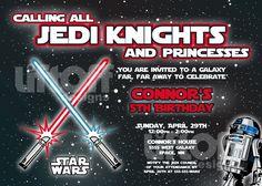Printable Birthday Invitation Free Star Wars