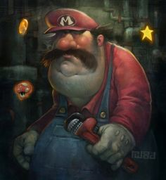 This is what a more realistic picture of a plumber looks like... Sorry Mario.