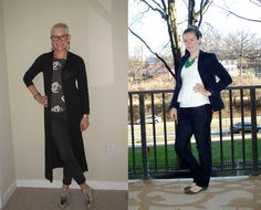 What We Wore: Dark Skinny Jeans - Two Take on Style