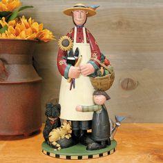Tribute to Bobbe Figurine - $60.00 Tribute to the creator of Williraye Studio