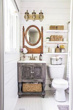 Super Storage - 15 Tiny Bathrooms That Are So Impressive - Photos