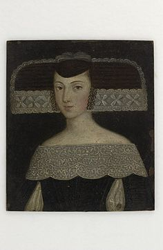 Miniature portrait of a lady by an unknown Spanish artist, 1650 Costume Noir, Art Costume, Costumes, Renaissance Portraits, Renaissance Art, Historical Costume, Historical Clothing, Female Portrait, Portrait Art