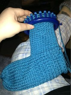 Easy slipper socks