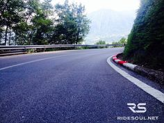 Croce D'Aune Pass, I bet you won't have a slow ride! #motorcycle #tour #italy