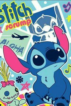 Stitch and Scrump. <3