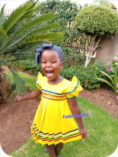 African Traditional Dresses, Lily Pulitzer, Yellow, Kids, How To Wear, Design, Fashion, Young Children, Moda