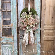 Christmas Wreath Door Wreath Wreath Door Decor Moss Wreath