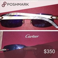 Cartier Buff Sunglasses Used but are in great condition Cartier Accessories Glasses