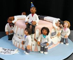 Торт для стоматологической клиники #стоматология #dentistry