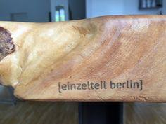 """[einzelteil] V - Esstisch """"Natural Industrial""""  Die Natürlichkeit des Holzes kombiniert mit Industriestahl. Die perfekte Symbiose für einen [einzelteil]-Esstisch! #möbel #möbelstück #möbeldesign #esstisch #holzdesign #design #berlin #einzelteil #einzelstück #einrichtung #einrichtungsidee #potd #modern #dyi #stahlgestell #naturholzplatte #tischplatte #tisch #natur #einzigartig #individuell #holztisch www.einzelteilberlin.blogspot.de"""