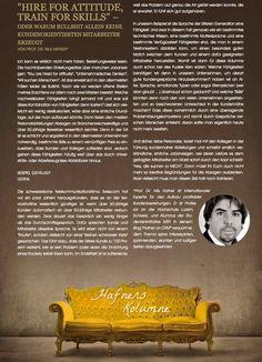 Hafner`s Kolumne September 2014 September 2014, Language, Knowledge
