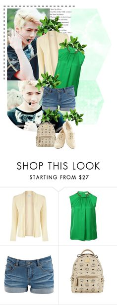 """""""Effortless"""" by seoulmate00 ❤ liked on Polyvore featuring Eastex, MICHAEL Michael Kors, Pieces, MCM, kpop, EXO, exok and Sehun"""