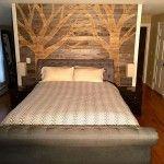 DIY Pallet Wall Paneling – Pallet Bedroom Walls