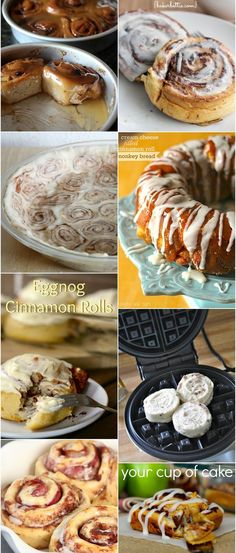 10 Things to Make with Store-Bought Cinnamon Rolls ~ I use cresent rolls., open out in one piece and slather with butter sprinkle heavily w/ brown sugar and cinnamon … roll up, slice roll into 6 pieces. (easier if you chill the roll in the freezer for 10 minutes) put in muffin tin back 15-18 min. at 350.When their done mix milk/powdered sugar to thinish consistency drizzle glaze on buns… Yummy !!