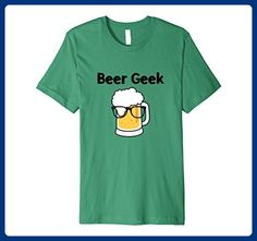 Mens Beer Geek Funny Home Brewing Brewer Beer Lover Nerd T-Shirt Medium Kelly Green - Food and drink shirts (*Amazon Partner-Link)