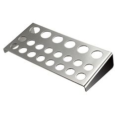 22 Holes Stainless Steel Tattoo Pigment Ink Cap Cup Holder Shelf - Gchoic.com