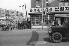 1965 Korean Street Life ~ Seoul Photo taken in Seoul, South Korea, in 1965 while on a shopping trip.