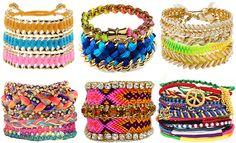 Friendship bracelets <3 @Katelyn Cook we should make bracelets together this summer!!! :)