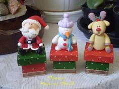 Polymer Clay Christmas, Polymer Clay Crafts, Diy Clay, Christmas Art, Christmas Decorations, Xmas, Christmas Ornaments, Clay Baby, Clay Ornaments