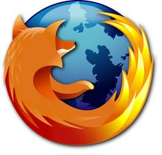 The Firefox logo is another easily recognizable image for computer-savvy consumers. Integration of both a fox and flames, along with an Earth image for the World Wide Web, come together for a cohesive, yet still simple design. Firefox Logo, Linux, Navigateur Web, Le Web, Internet Explorer, App Design, Logo Design, Identity Design, Icon Design