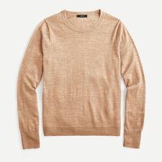 J.Crew: Margot Crewneck Sweater For Women Sweater Outfits, Men Sweater, Crewneck Sweater, Professional Outfits, Cashmere Sweaters, Mens Suits, Autumn Winter Fashion, Winter Style, Sweaters For Women