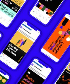Bloomberg asked us to work our data visualization magic for an automated video campaign analysing the futures market. Design Responsive, Web Design, Graphic Design, Social Media Games, Typography Love, Branding, Brand Identity, Text Animation, Ui Web