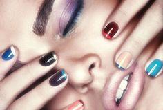 nails unhas esmalte