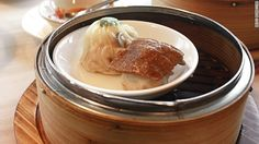Siu mai with quail egg or liver http://cnn.it/1jmIhzJ