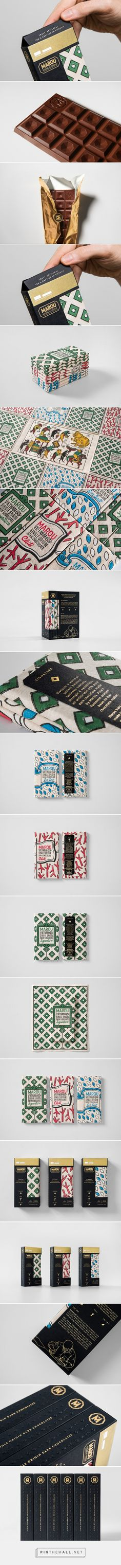 Marou Chocolate packaging design for National Gallery Singapore by Rice Creative - http://www.packagingoftheworld.com/2016/06/marou-chocolate-for-national-gallery.html